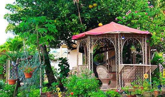 maui - ocean - view- cottages - hawaiian-gazebo